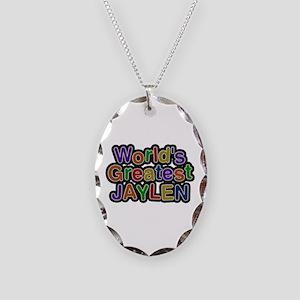 World's Greatest Jaylen Oval Necklace