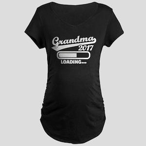 Grandma 2017 Maternity T-Shirt