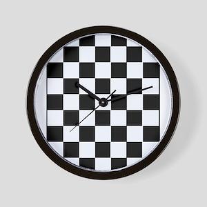 Checkered Wall Clock