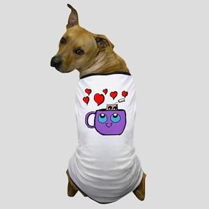 Kawaii Tea Cup and Tea Bag Dog T-Shirt