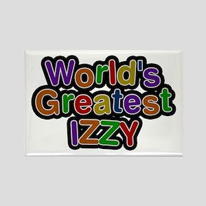 World's Greatest Izzy Rectangle Magnet