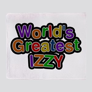World's Greatest Izzy Throw Blanket