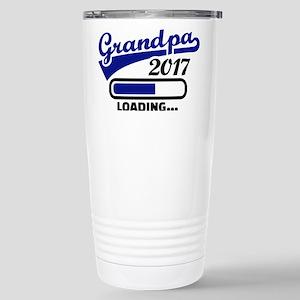 Grandpa 2017 Stainless Steel Travel Mug