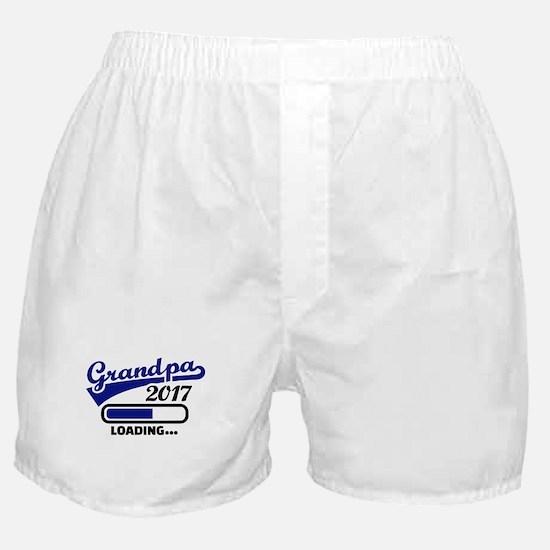 Grandpa 2017 Boxer Shorts