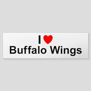 Buffalo Wings Sticker (Bumper)