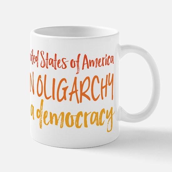 USA Oligarchy Mugs
