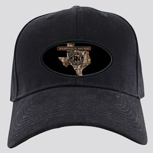 Texas Roughneck Oilfield Black Cap With Patch