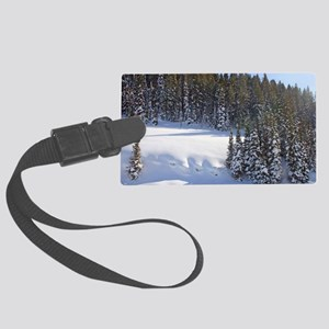 Beaver Mountain Luggage Tag