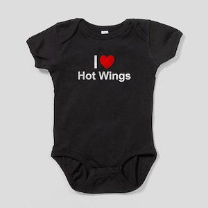 Hot Wings Baby Bodysuit