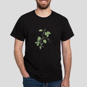 Hop Plant Climbing Drawing T-Shirt