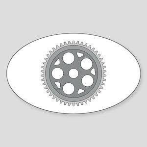 Vintage Single Ring Crank Retro Sticker