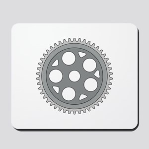Vintage Single Ring Crank Retro Mousepad