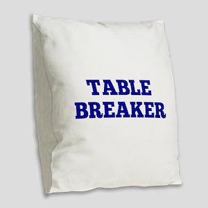 Playoffs! Burlap Throw Pillow
