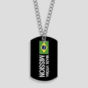 Brazil, Vitória Mission (Flag) Dog Tags