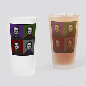 Edgar Allan Poe Warhol Drinking Glass