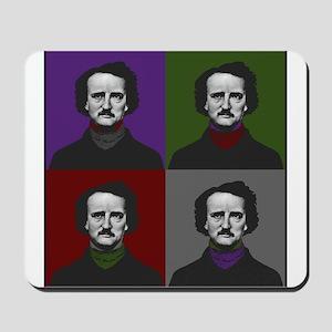 Edgar Allan Poe Warhol Mousepad