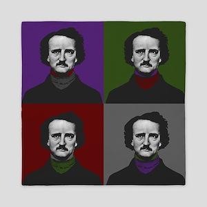 Edgar Allan Poe Warhol Queen Duvet
