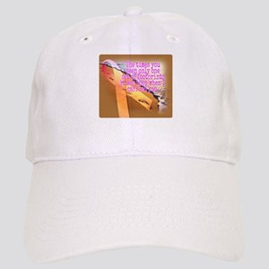 Breast cancer survivor. Lord carried you Cap