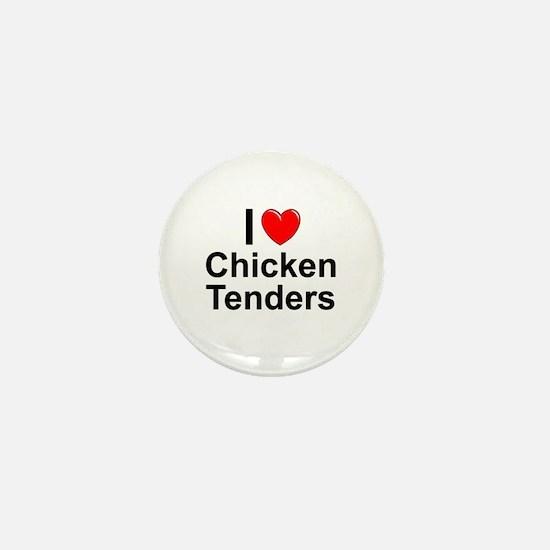 Chicken Tenders Mini Button