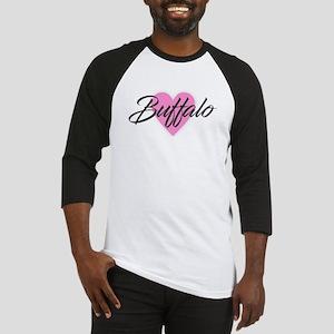 I Heart Buffalo Baseball Jersey