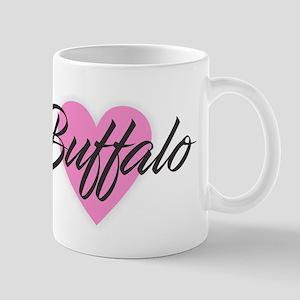I Heart Buffalo Mugs