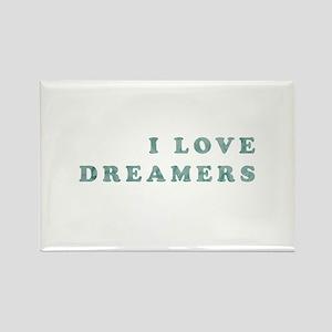 I LOVE DREAMERS Magnets