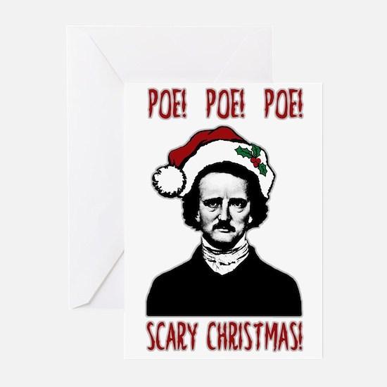 Poe! Poe! Poe! Greeting Cards
