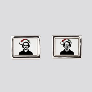 Poe! Poe! Poe! Rectangular Cufflinks