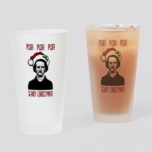 Poe! Poe! Poe! Drinking Glass
