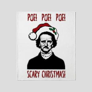 Poe! Poe! Poe! Throw Blanket