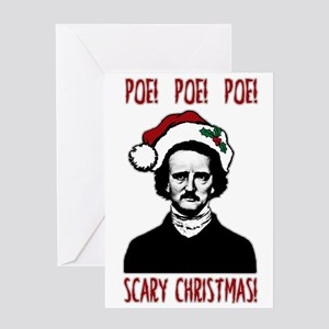 Poe! Poe! Poe! Greeting Cards
