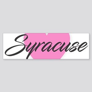 I Heart Syracuse Bumper Sticker