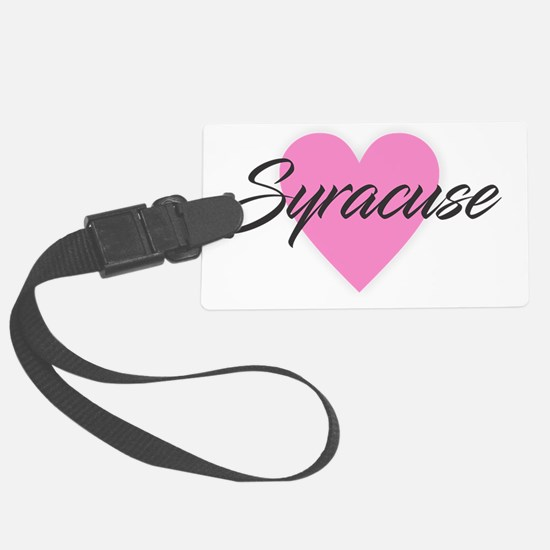 I Heart Syracuse Luggage Tag