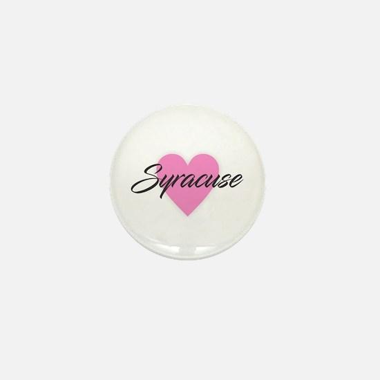 I Heart Syracuse Mini Button