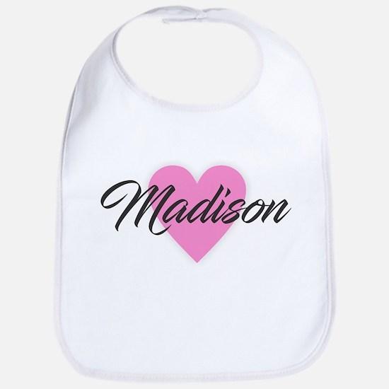I Heart Madison Baby Bib