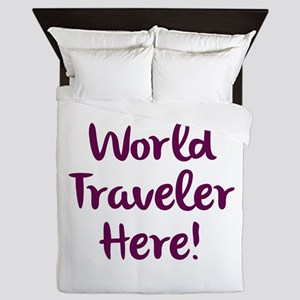 World Traveler Queen Duvet
