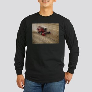 Combine on Harvet Day #1 Long Sleeve Dark T-Shirt