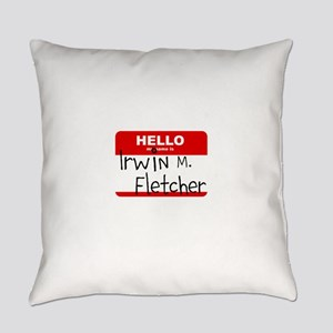 Fletch Name Tag Everyday Pillow