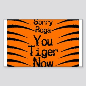 Sorry Roga Rectangle Sticker