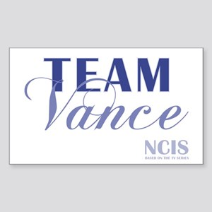 TEAM VANCE Sticker (Rectangle)