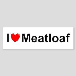 Meatloaf Sticker (Bumper)