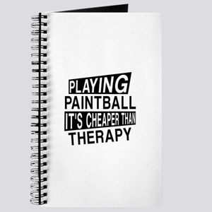 Awesome Paint Ball Player Designs Journal