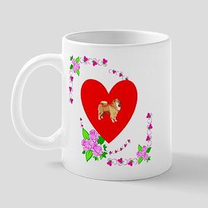 Chow Chow Love Mug