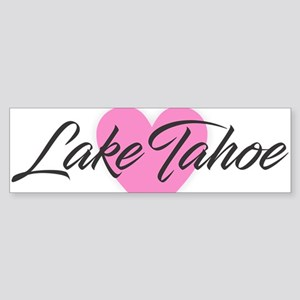 I Heart Lake Tahoe Bumper Sticker