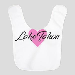 I Heart Lake Tahoe Polyester Baby Bib