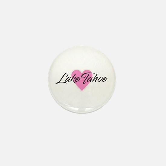 I Heart Lake Tahoe Mini Button