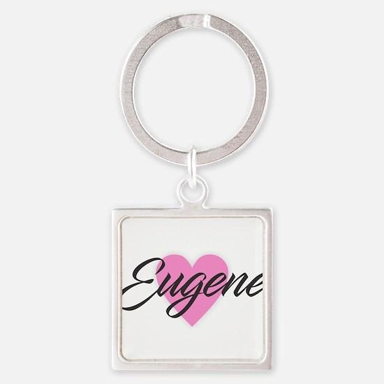 I Heart Eugene Keychains