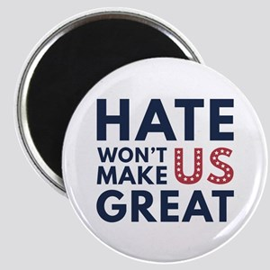 Hate Won't Make US Great Magnet