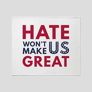 Hate Won't Make US Great Stadium Blanket
