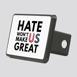 Hate Won't Make US Great Rectangular Hitch Cover